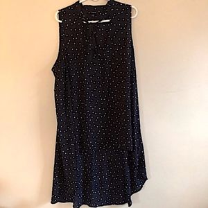 Torrid High Low Black Stars Dress- Size 2